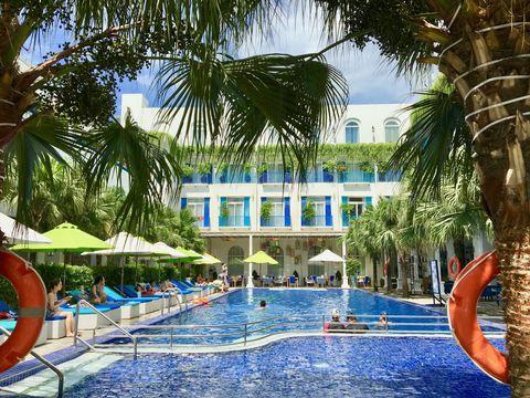 ベトナム・ダナンのリゾートで地中海気分!