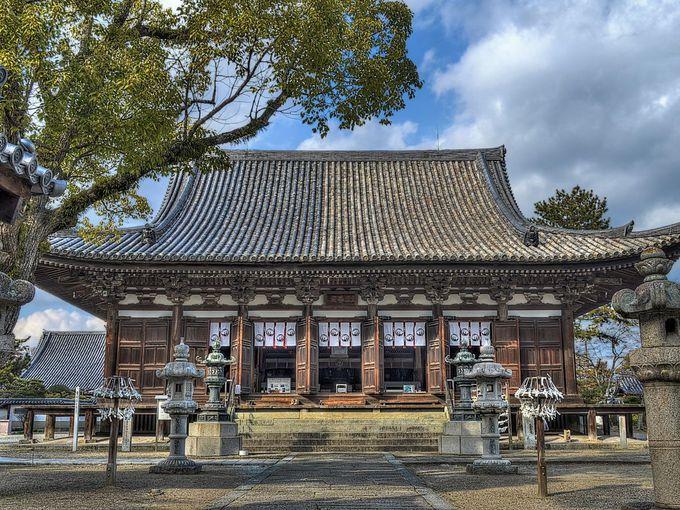 折衷様を代表する鶴林寺の本堂