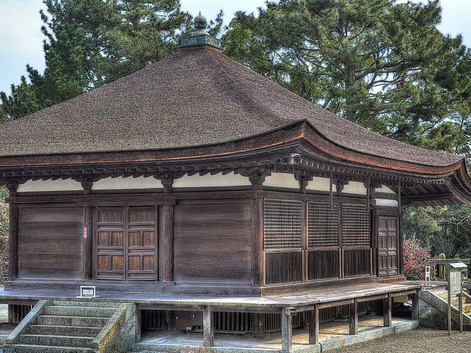 兵庫県最古の建築 太子堂