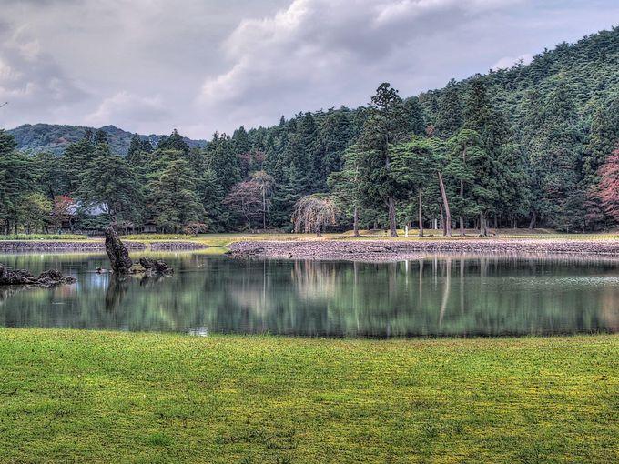 3.毛越寺庭園