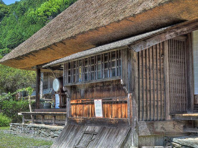 祖谷最古の民家 重要文化財の木村家住宅
