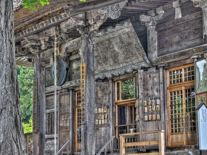 中の立木観音とあわせて見学したい恵隆寺観音堂