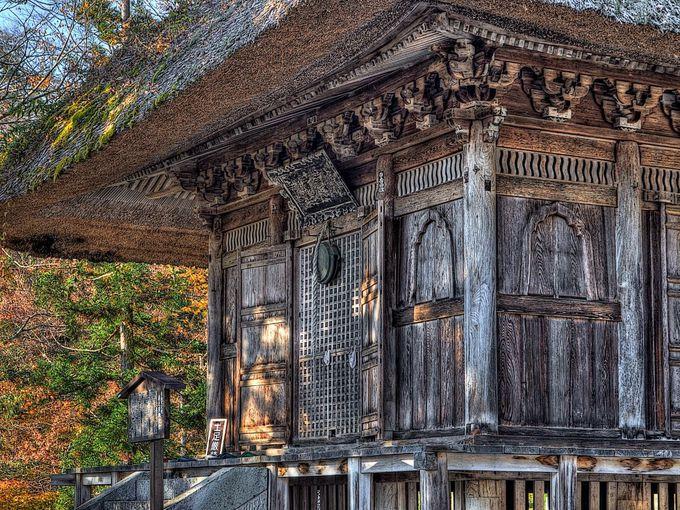 虚空蔵尊で有名な円蔵寺では奥之院へもぜひ