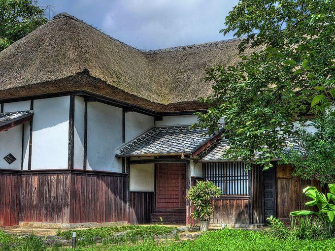 在郷武士の生活を伝える旧乗田家住宅