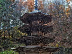 信州塩田平とその周辺の歴史散策 個性派ぞろいの三重塔をまとめて訪問