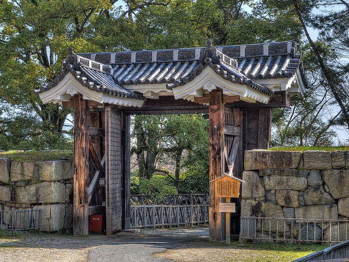 旧二之丸東二之門 〜 本丸にあるもう1つの重要文化財の門