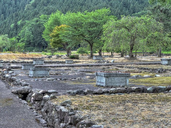 一乗谷は特別史跡の戦国城下町