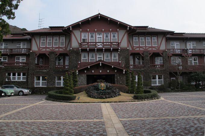 文化財にも登録 古き佳き歴史の雲仙観光ホテル