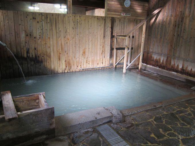 施設内で温泉三昧 まずは元湯から♪