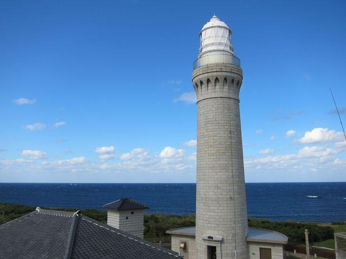 登れる灯台 角島灯台