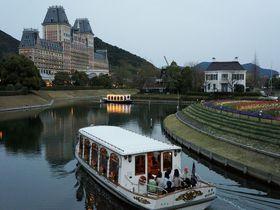 「ホテルオークラJRハウステンボス」掛け流しの温泉とハウステンボスを一望できる眺望!