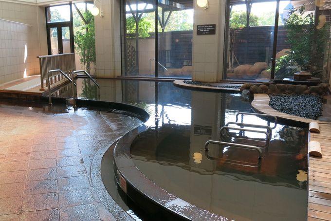 ハウステンボスエリア唯一の天然温泉
