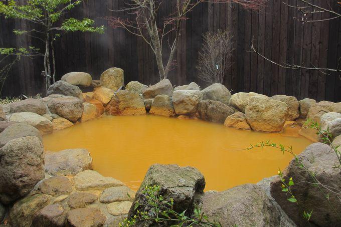 天然温泉で寛ぎのひとときを♪