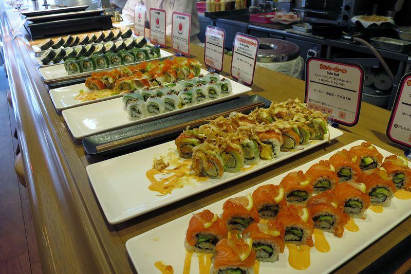 ラスベガスから逆輸入!福岡「FISH&FISH」創作ロール寿司が食べ放題