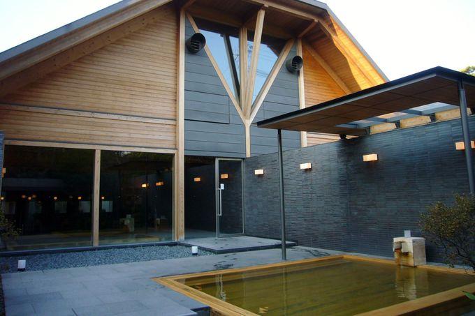 和多屋別荘の贅沢な浴場 湯殿心晶