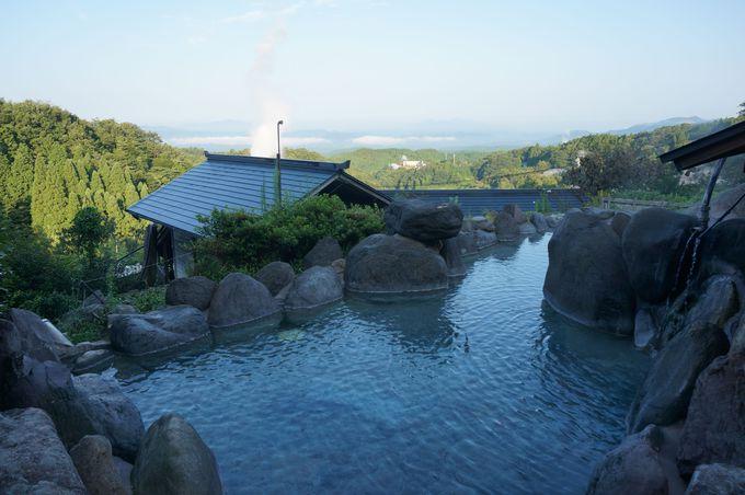 わいた温泉郷1番の見晴らし「混浴露天風呂」