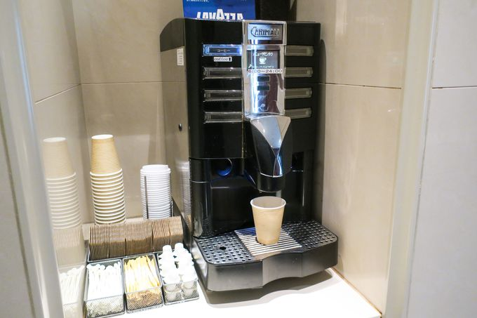 アメニティ・コーヒーサービスも充実!