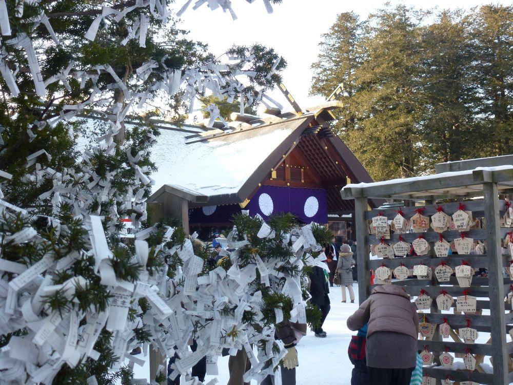 初詣にはパワースポット「北海道神宮」で運試しのおみくじを!