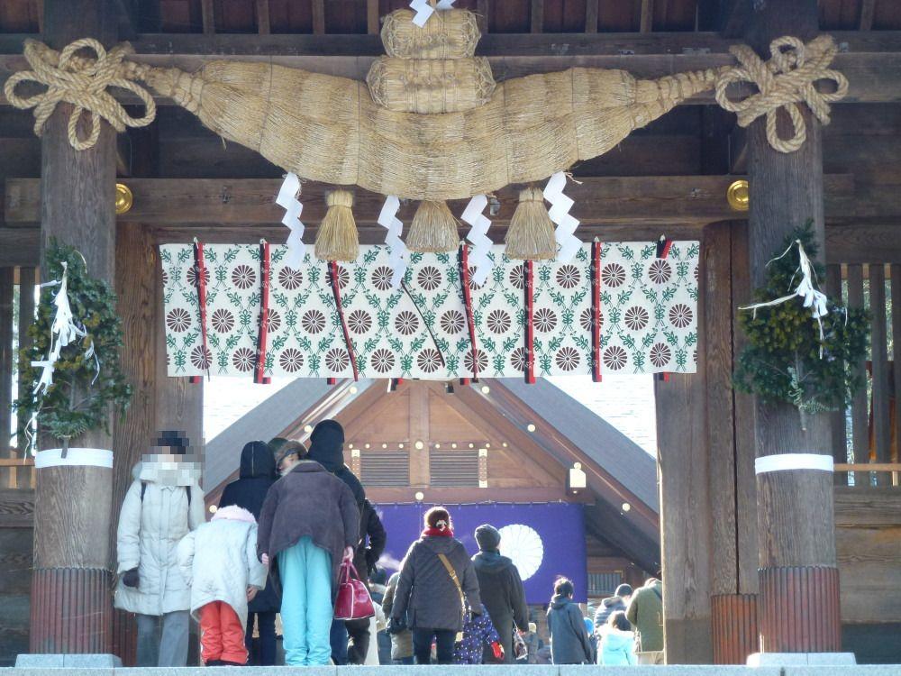 初詣の参拝者数は北海道一!パワースポット「北海道神宮」で運試し!(札幌市)