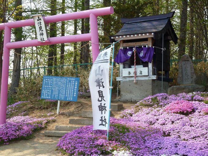 「山津見神社」にお参り