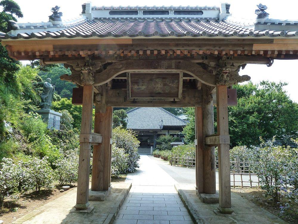 日米下田条約締結の舞台「了仙寺」