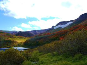 紅葉美しい錦色の森!秋の絶景、北海道「大雪高原沼めぐり」