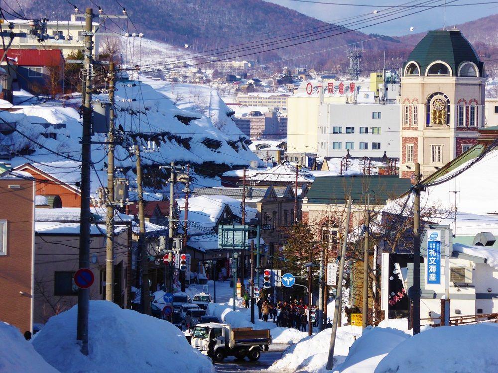 坂の街小樽で体感!傾斜と街並みと人々の暮らし