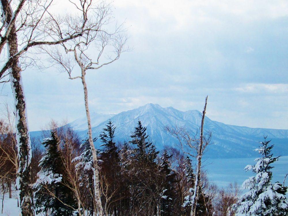 地図上に名前の無い山「幌平山」は展望の良い冬登山の名所