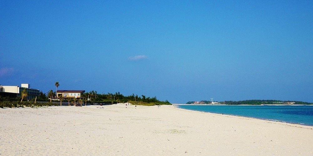 久米島観光の中心!日本の渚百選に選ばれた美しい「イーフビーチ」