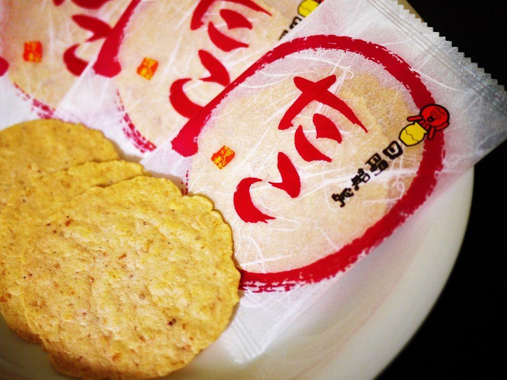 風味豊かな「たこせんべい」も外せない日間賀島土産
