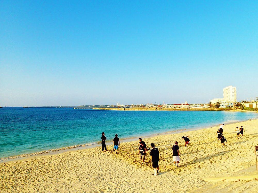 宮古島市民憩いのビーチ「パイナガマビーチ」