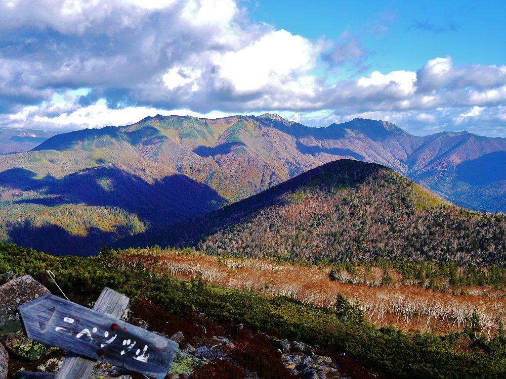 「ニペソツ山」登山道から眺める東大雪の雄大な大自然!