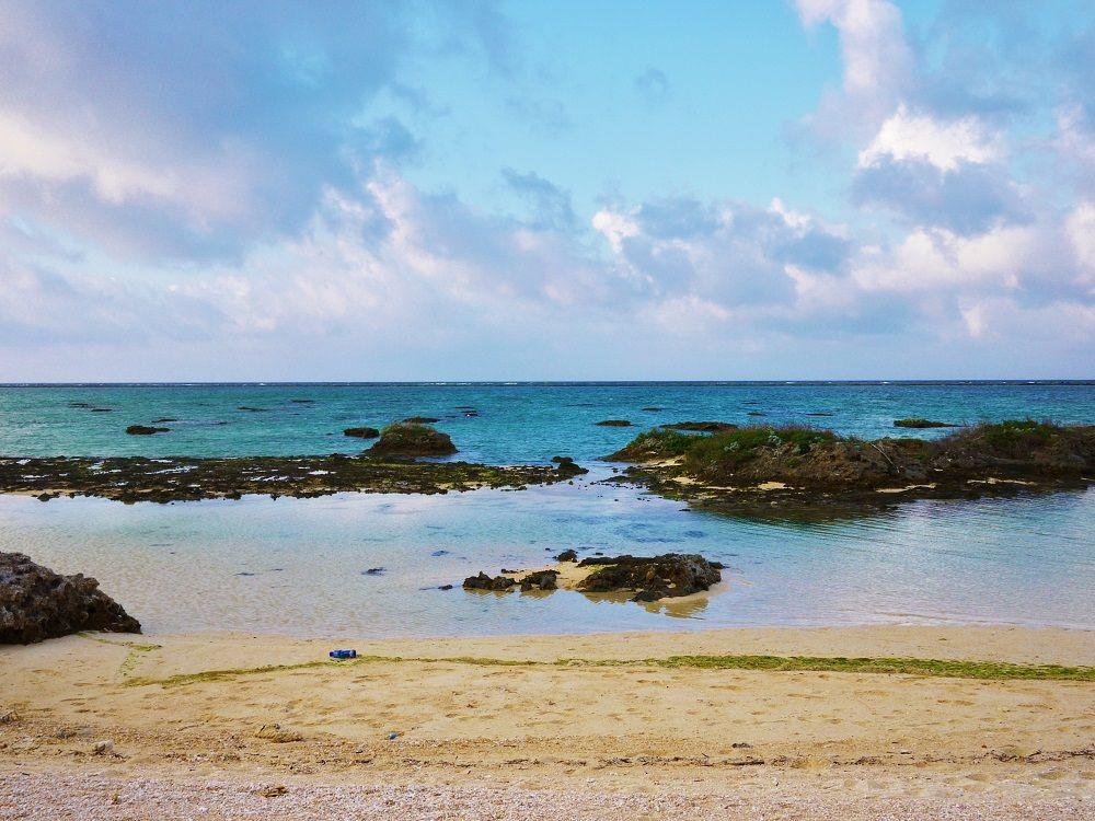 日中はビーチ探検が楽しい!