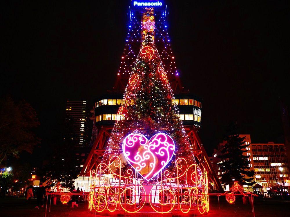 冬の札幌観光は「さっぽろホワイトイルミネーション」へ