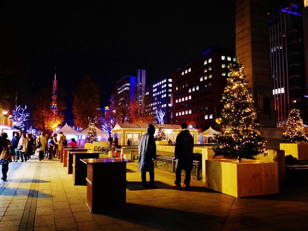光のグルメタウン「クリスマスガーデンカフェ」