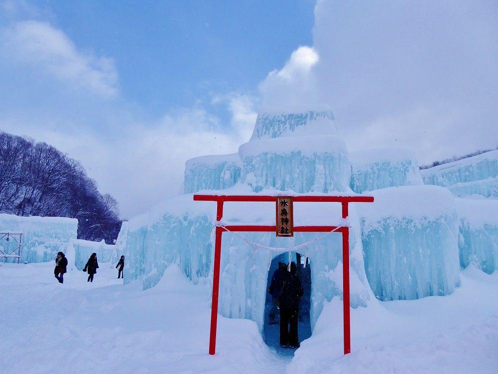 初詣はバッチリの人もまだの人も氷の神社にお参りしましょ!