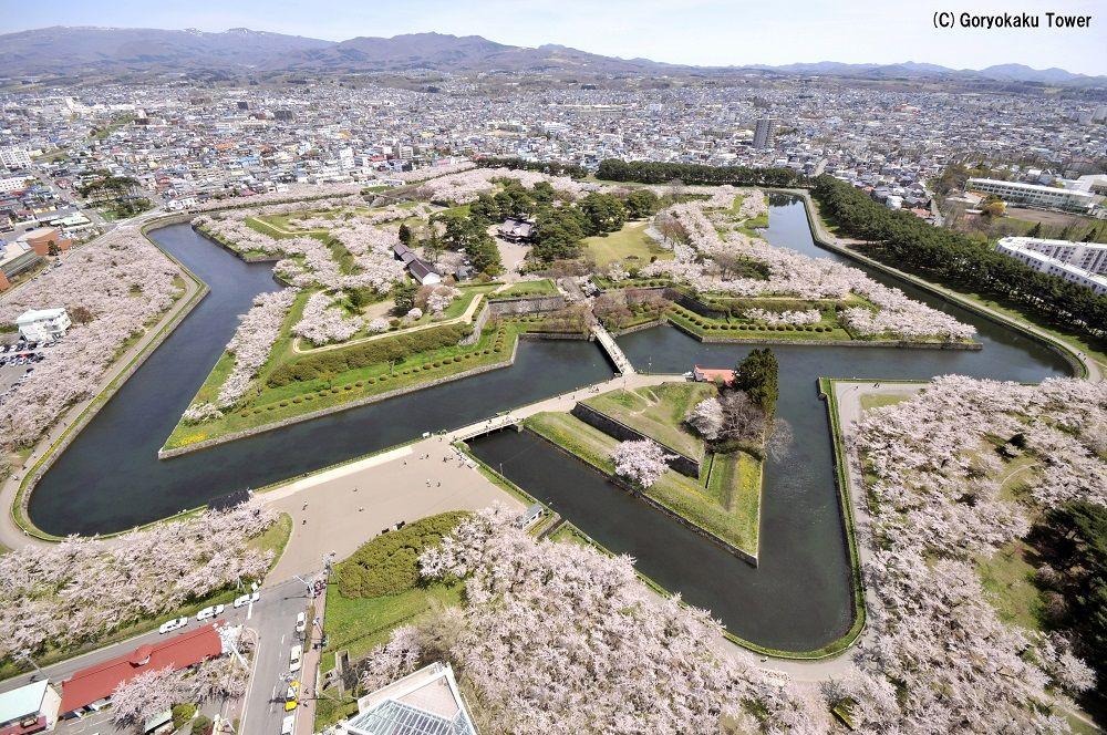 函館観光といえば!周辺の史跡巡りも楽しい「五稜郭」