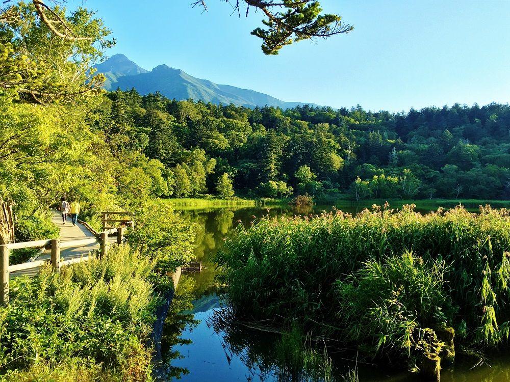 島で一番美しい逆さ利尻富士を観賞!「姫沼」で感じる大自然