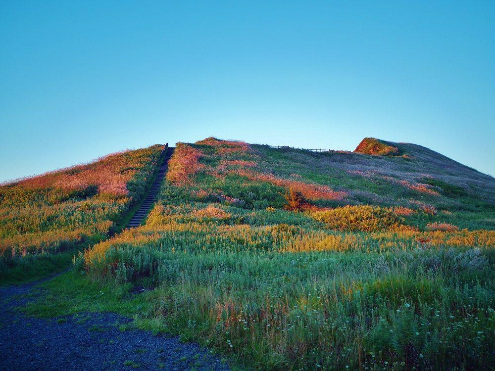 利尻島で夕日を見るならココ!「夕日ヶ丘展望台」