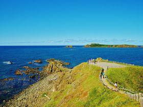 日本最北限!礼文島の最北端に位置する「スコトン岬」観光