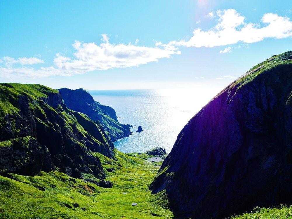 息を飲むほど美しい絶景が広がる「桃岩展望台」からの眺め
