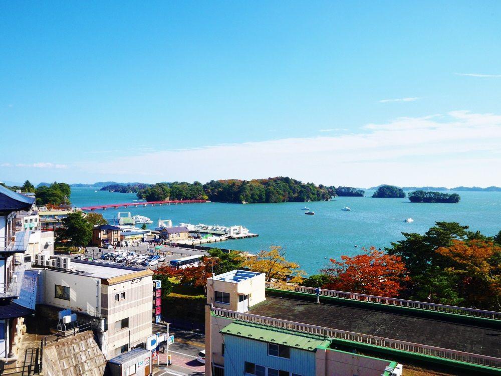 住宅街に天守閣?!日本三景展望台「松島城」に登ろう