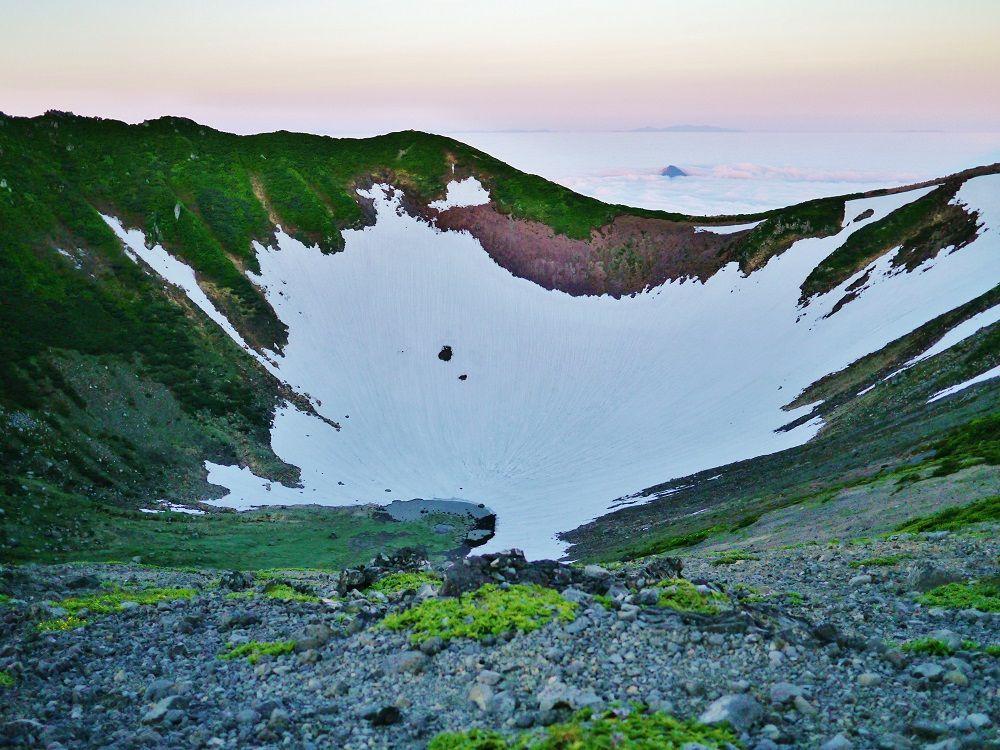 強いパワーを感じる山頂付近の絶景