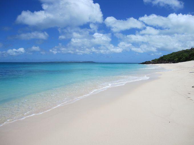 まさに思い描いていた南国のビーチ。長間浜「宮古島」