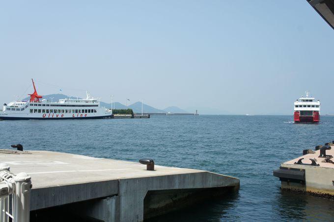 アート県の玄関口「高松港」