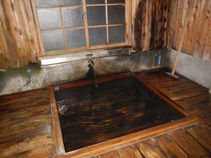 中房温泉の中で一番歴史がある御座の湯