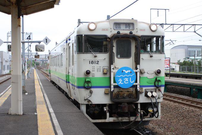 旅の始まりは木古内駅