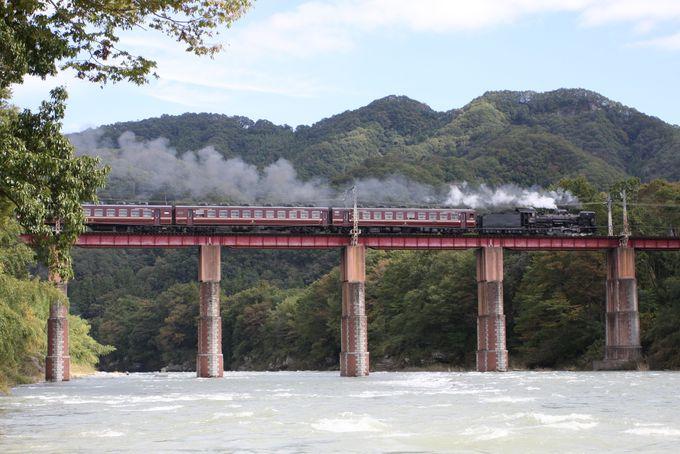 鉄道ファンも堪らない!秩父の大自然を駆ける蒸気機関車「パレオエクスプレス」