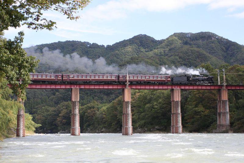 日本でココだけ!何度も追い抜き何回も撮影出来るSL列車!!〜秩父鉄道乗り撮り歩き