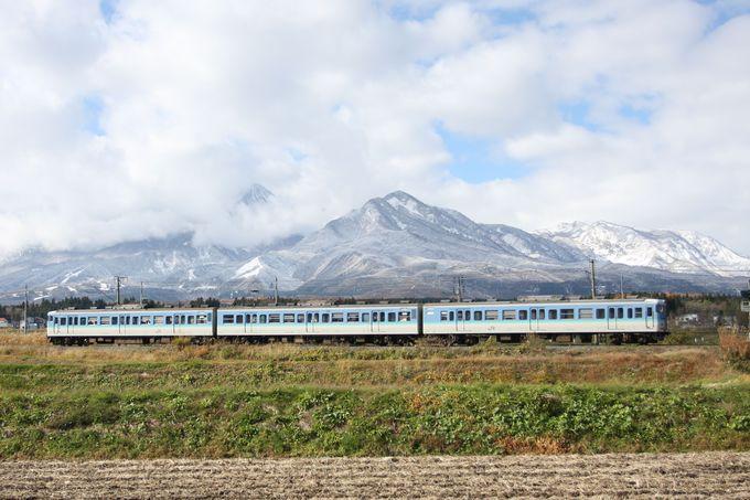 妙高の山々の懐…妙高高原駅へ